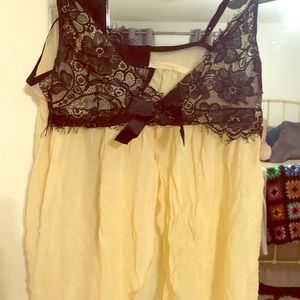 Other - Sexy yellow and black babydoll